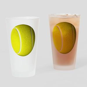 Tennis Ball Drinking Glass