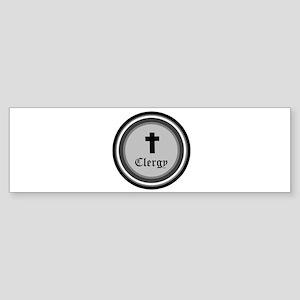 CLERGY Bumper Sticker