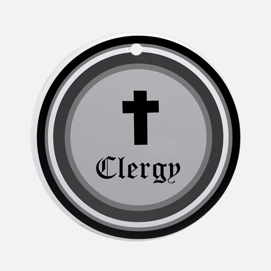CLERGY Ornament (Round)