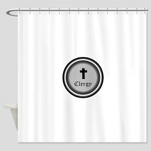 CLERGY Shower Curtain