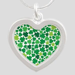 Irish Shamrock Heart - Necklace Necklaces