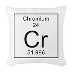 24. Chromium Woven Throw Pillow