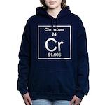 24. Chromium Women's Hooded Sweatshirt