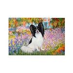 Garden & Papillon Rectangle Magnet (10 pack)