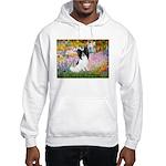 Garden & Papillon Hooded Sweatshirt