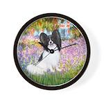 Garden & Papillon Wall Clock
