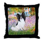 Garden & Papillon Throw Pillow