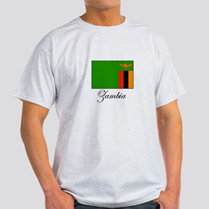 Zambia - Flag Light T-Shirt