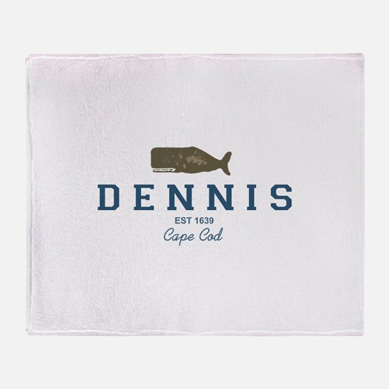 Dennis - Cape Cod. Throw Blanket