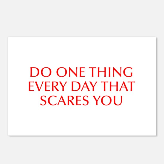 Do one thing every day that scares you-Opt red Pos