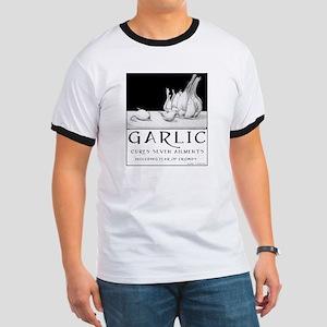 Garlic Cures Men's Ringer T-Shirt