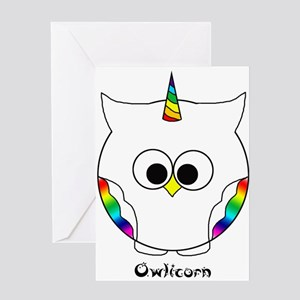 The Owlicorn Greeting Cards