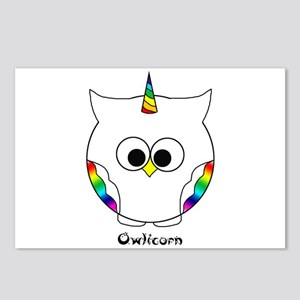 The Owlicorn Postcards (package Of 8)