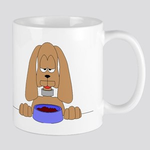 Dog With Food Mugs