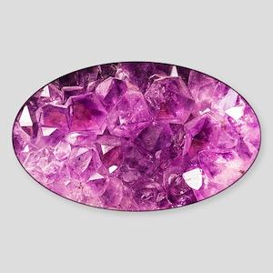 Amethyst Healing Gemstone Sticker