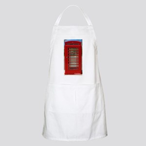 British Telephone Booth Light Apron
