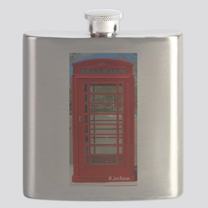 British Telephone Booth Flask