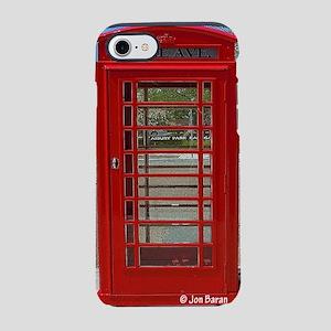 British Telephone Booth iPhone 8/7 Tough Case