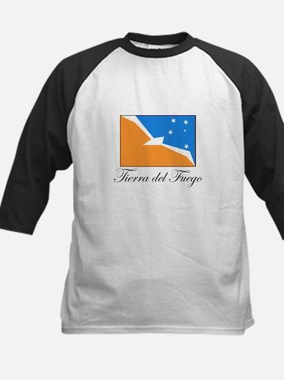 Tierra del Fuego - Flag Kids Baseball Jersey