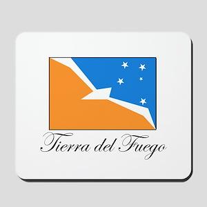Tierra del Fuego - Flag Mousepad