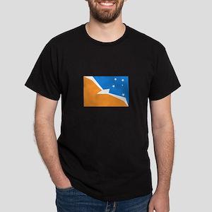 Tierra del Fuego Flag Dark T-Shirt
