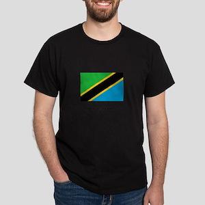 Tanzania - Flag Dark T-Shirt