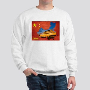 Flag&Map Postcard Jumper