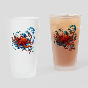 Tattoo Inspired Drinking Glass