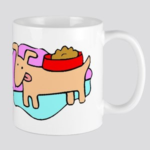 Dog And Food Mugs