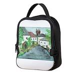 English Village Neoprene Lunch Bag