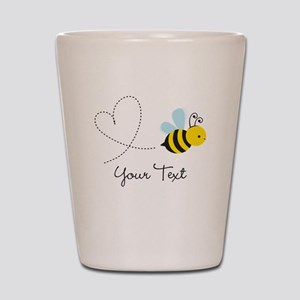 Cute Bee and Heart; honeybee; Personalized Kid's S