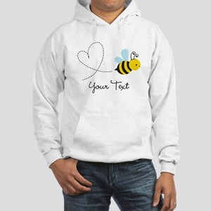 Cute Bee and Heart; honeybee; Personalized Kid's H