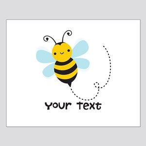 Personalzied Kid's Honey Bee, Black & Yellow Poste