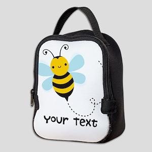 Personalzied Kid's Honey Bee, Black & Yellow Neopr