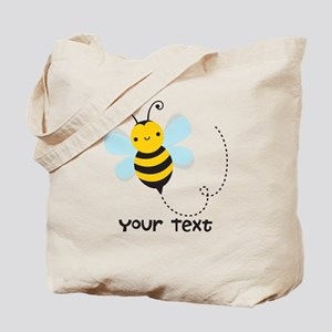 Personalzied Kid's Honey Bee, Black & Yellow Tote
