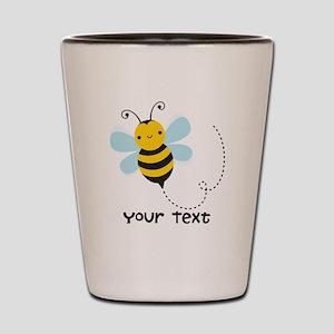 Personalzied Kid's Honey Bee, Black & Yellow Shot