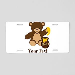Cute Honey Bear; Personalized Kid's Graphic Alumin