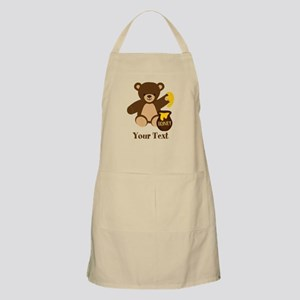 Cute Honey Bear; Personalized Kid's Graphic Apron