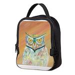 Sunset Owl Neoprene Lunch Bag
