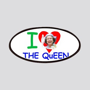 I Love The Queen Pro photo Patches