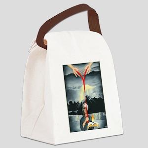 Spirit of a Warrior Canvas Lunch Bag