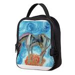 Blue Horse Neoprene Lunch Bag
