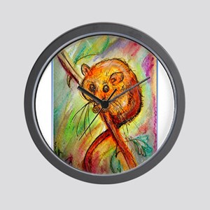 Mouse, wildlife, animal art Wall Clock