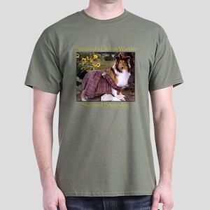 Warrior Sheltie Dark T-Shirt