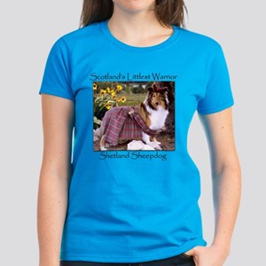 Warrior Sheltie Women's Dark T-Shirt
