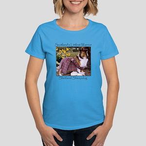 Warrior Sheltie Women's Dark T-Shirt