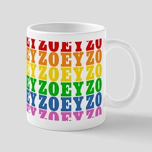 Rainbow Name Pattern Mug