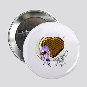 "Happy Valentine's by Bluesax 2.25"" Button"