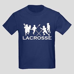 LACROSSE TEAM - Kids Dark T-Shirt