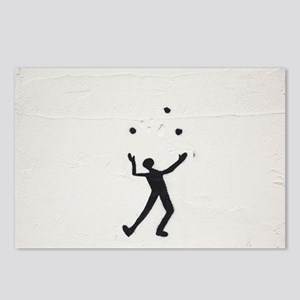 Juggler Postcards (Package of 8)